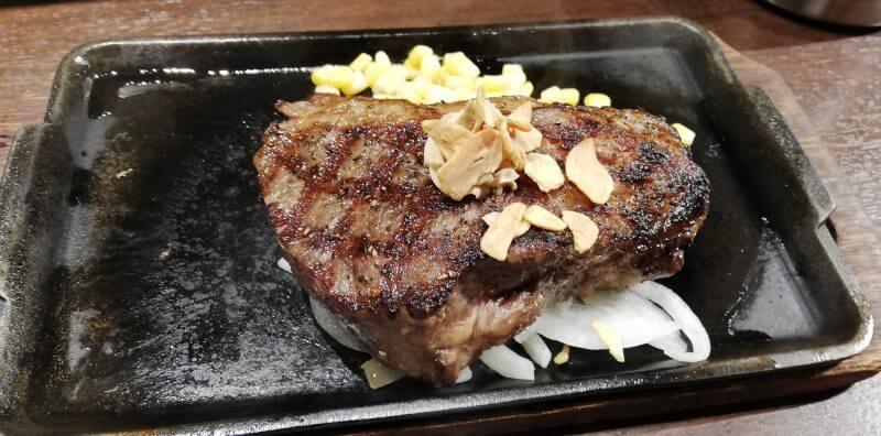 UberEatsいきなりステーキ