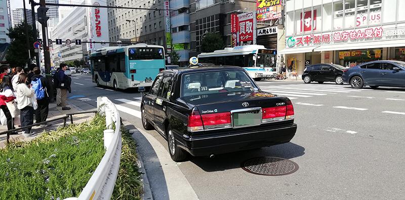 Uberタクシー大阪を使ってみた